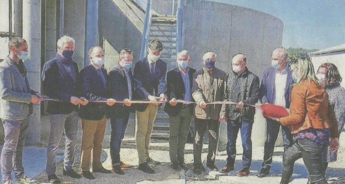 Inauguration station d'épuration