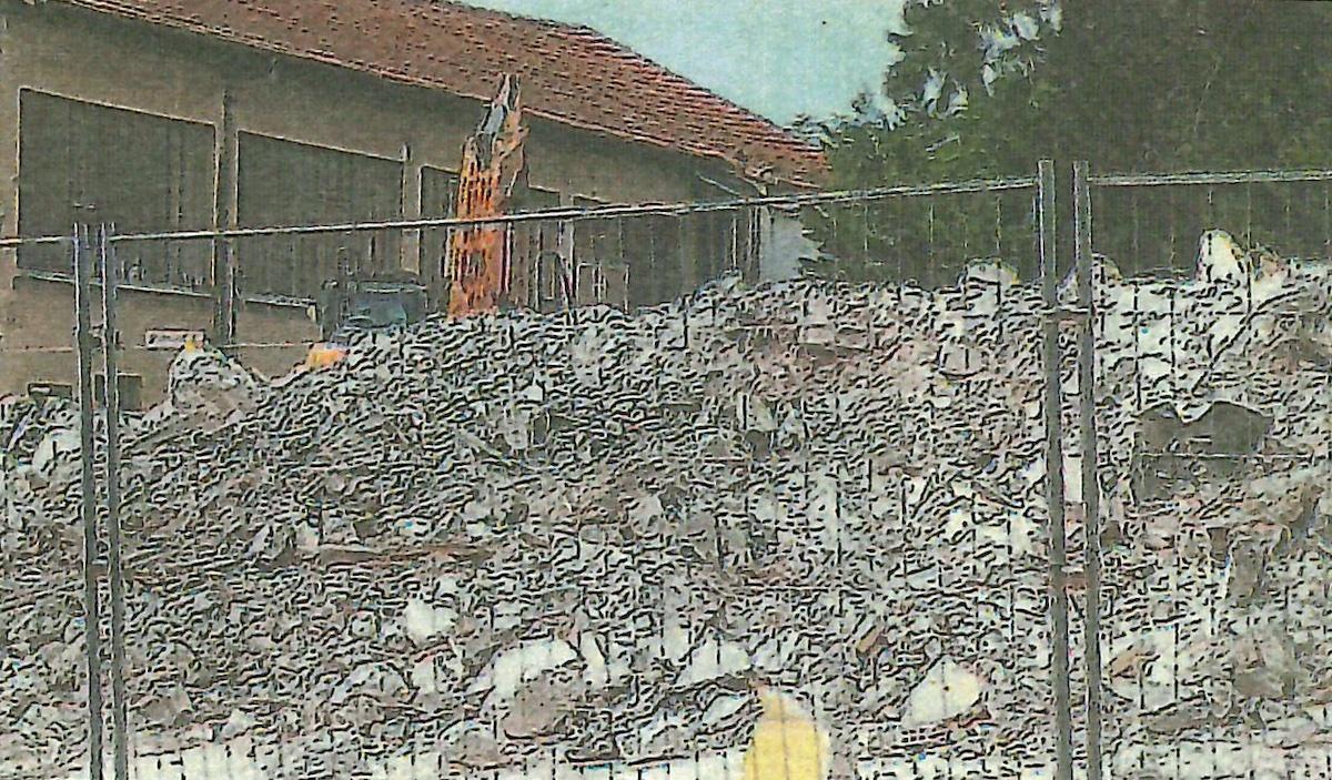 Ilot d'Espoulette : la démolition se termine