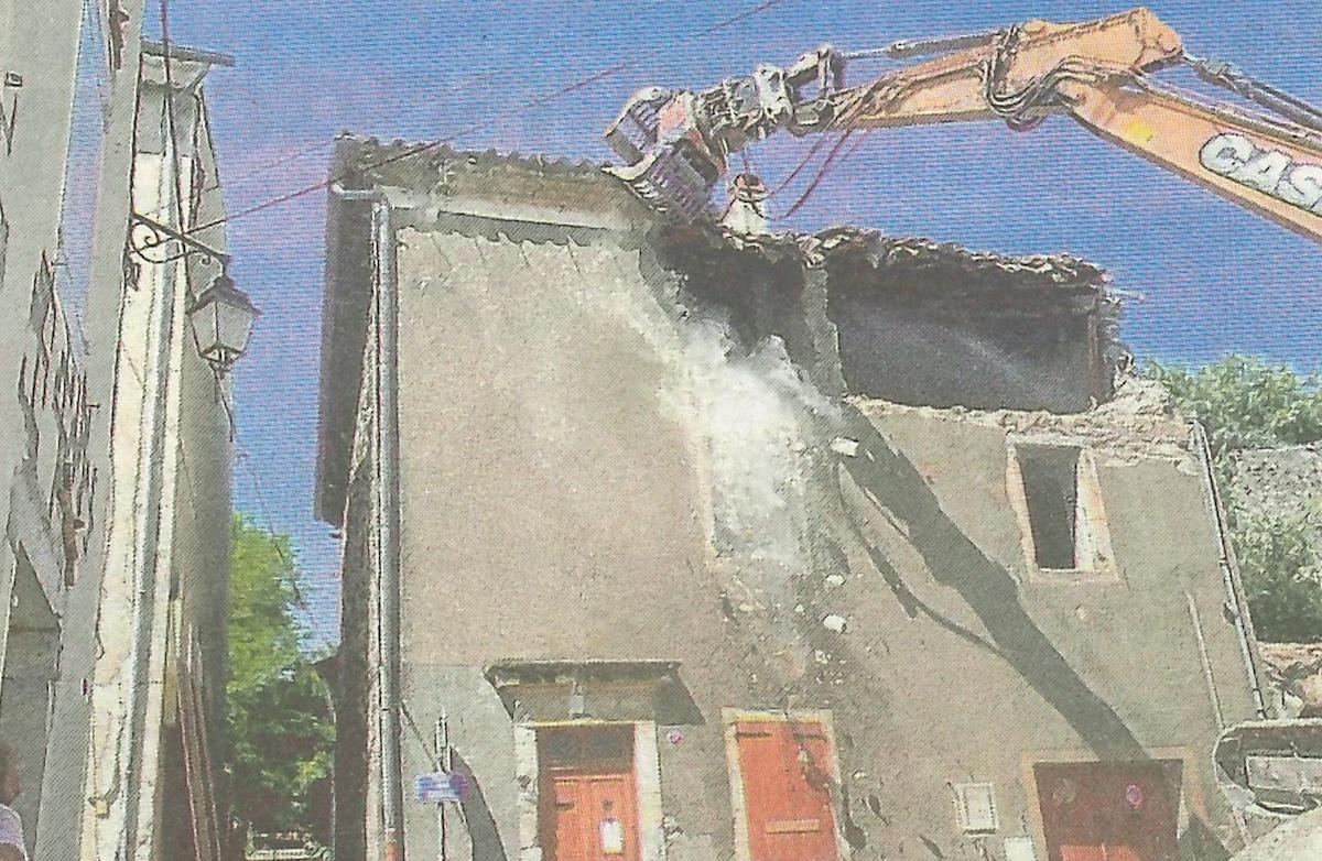 Le Teil – Nouvelle démolition suite au séisme