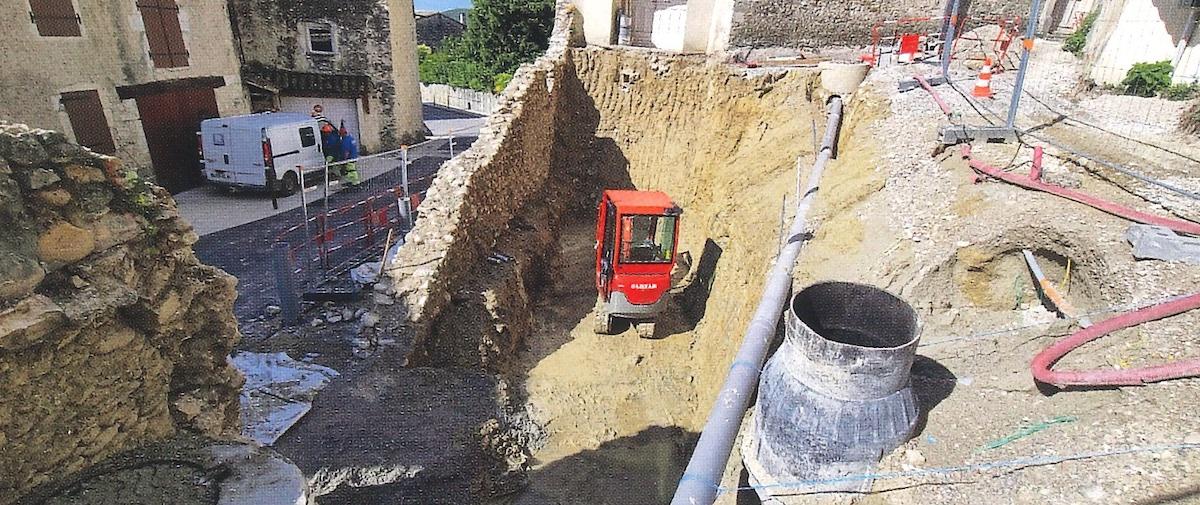 Aménagement à Montboucher sur Jabron